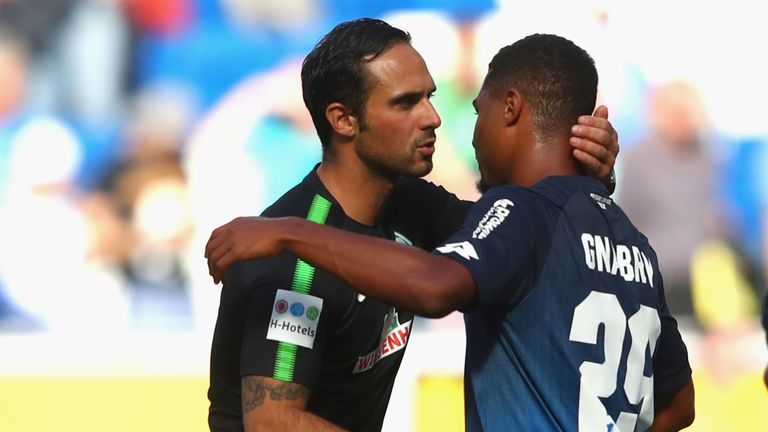 Gnabry, playing for Hoffenheim, embraces former Werder Bremen coach 	Alexander Nouri