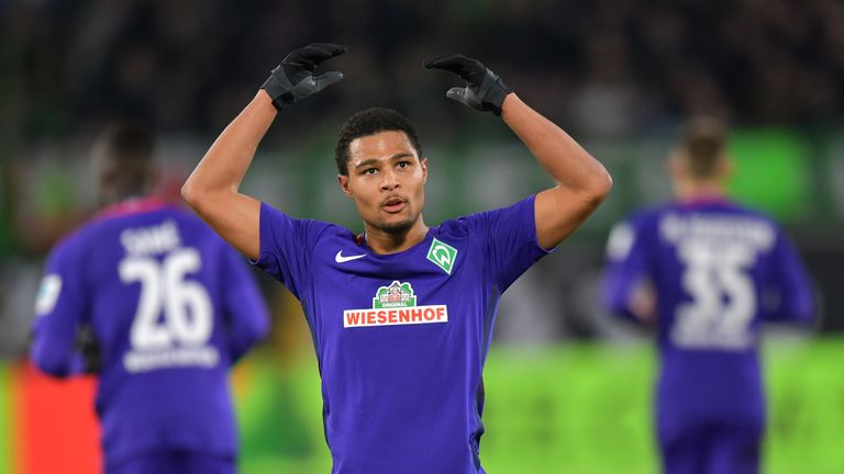 Gnabry moved to Werder Bremen from Arsenal in the summer of 2016