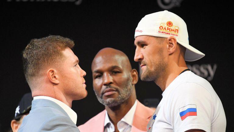 Saul Alvarez challenges Sergey Kovalev for the WBO light-heavyweight title