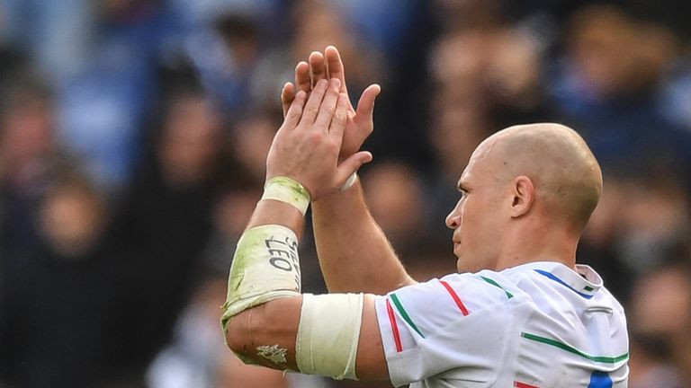 Parisse has played 143 tests, the most by a northern hemisphere player