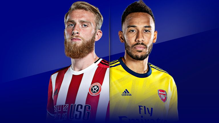 Watch Sheffield United vs Arsenal live on Monday Night Football from 7pm
