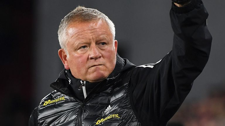 Sheffield United manager Chris Wilder has guided the Blades to eighth in the Premier League