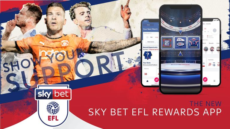 Win tickets, signed shirts and more prizes with new Sky Bet EFL rewards app! | Football News |
