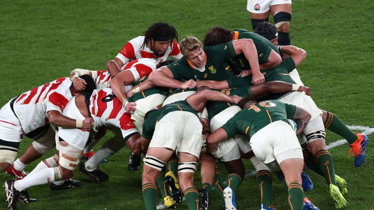 South Africa's rolling maul has underpinned much of their efforts at this World Cup