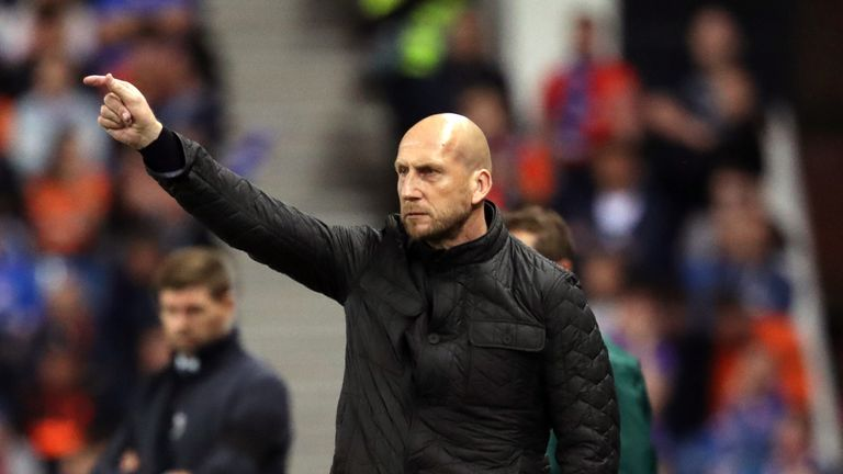 Jaap Stam: Feyenoord coach steps down after 4-0 defeat by Ajax