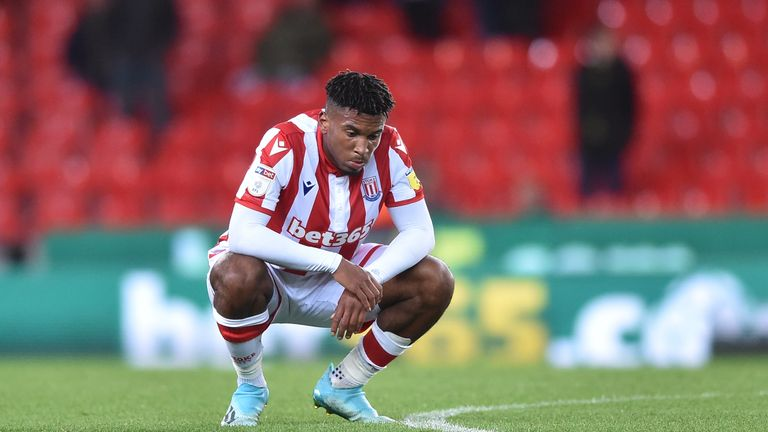 Stoke are rock bottom of the Championship and without a win in 10 matches this season