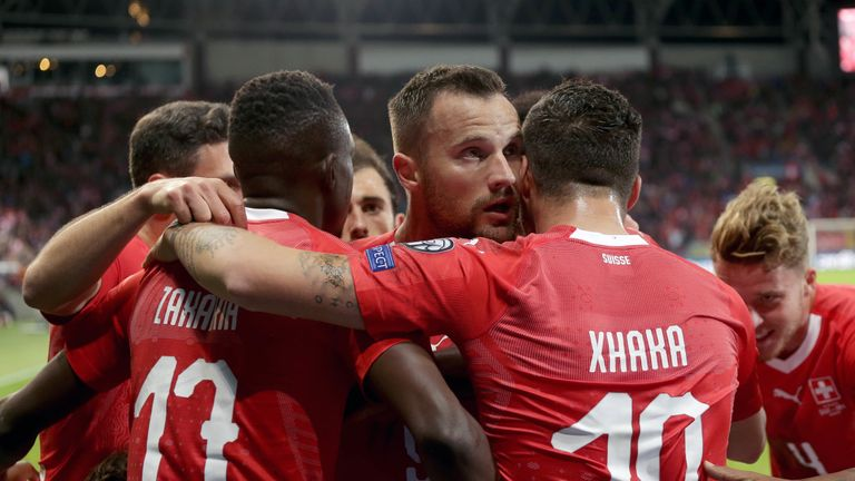 Haris Seferovic gave Switzerland the lead over Republic of Ireland