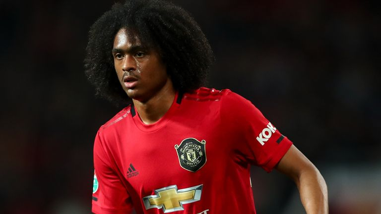 Tahith Chong could leave Manchester United on a free transfer