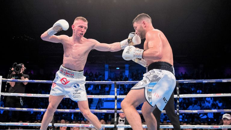 Cheeseman kept Fitzgerald at bay with clever movement