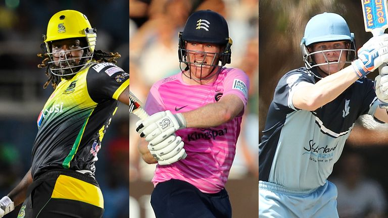 The Hundred Eoin Morgan Steve Smith Chris Gayle And David