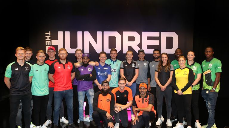 Players at The Hundred draft