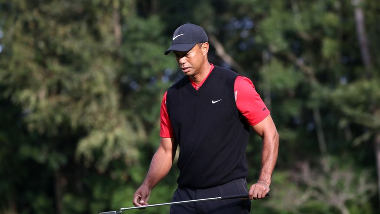 Woods maintained his 100 per cent record of turning a 54-hole lead of three strokes or more into a victory