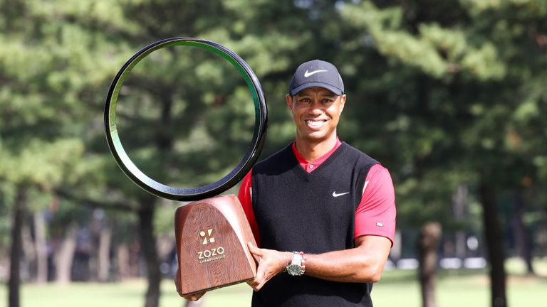 Woods' victory was his second of 2019, following on from the Masters