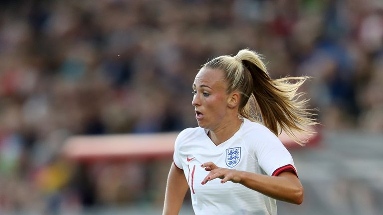Toni Duggan endured an injury-affected World Cup campaign in the summer