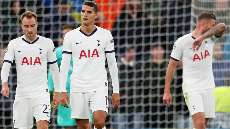 Former Spurs goalkeeper Paul Robinson said the defeat was 'very, very worrying'