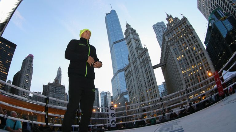 Usyk headlines in Chicago at 2am on Sunday morning, live on Sky Sports Action