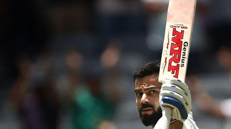 Virat Kohli has led from the front for India