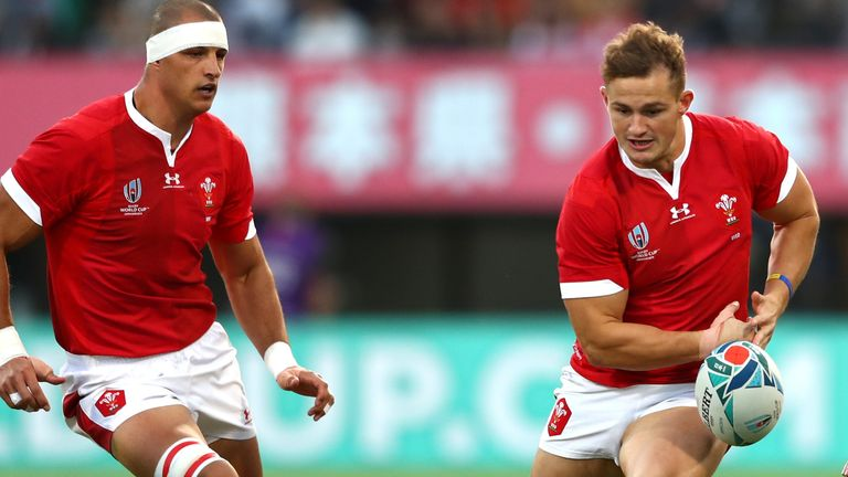 Handling errors plagued Wales' output in their final pool match