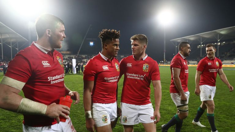 Watson and Farrell beat and drew with New Zealand on Kiwi soil with the Lions in 2017