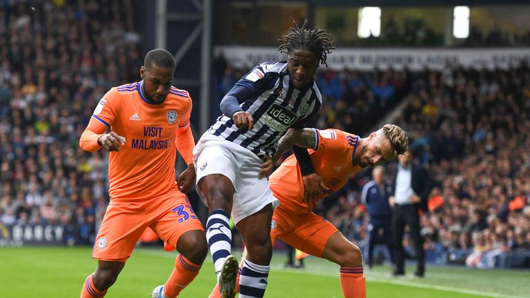 West Brom 4 2 Cardiff Baggies Win To Go Top Of The Championship Football News Sky Sports