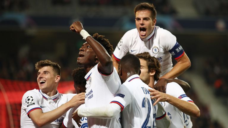Willian, Lille vs Chelsea, Champions League