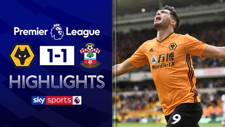 Wolves 1 1 So Ton Match Report Highlights