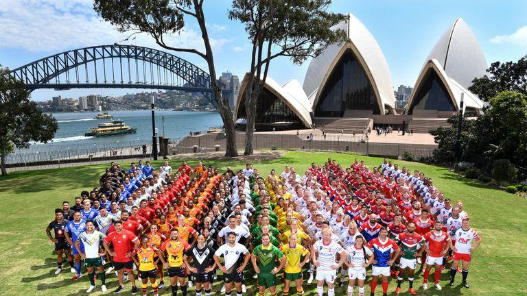 NRL-World Nines Team photographs . Picture:NRL Photos/Gregg Porteous