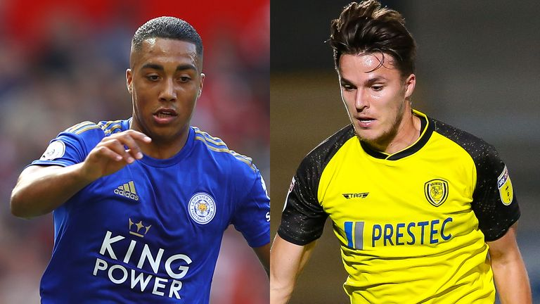Youri Tielemans and Oliver Sarkic could be in line to face each other on Tuesday