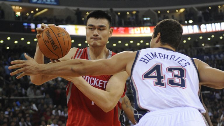 Yao Ming could be man in middle if NBA and China are to mend fences | NBA News |