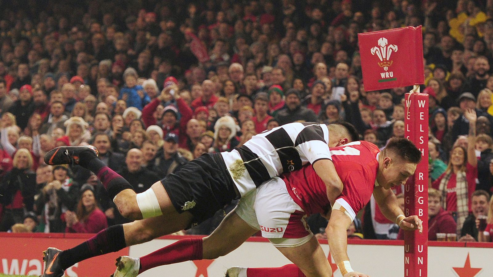 Wales 15   15 Barbarians   Match Report & Highlights
