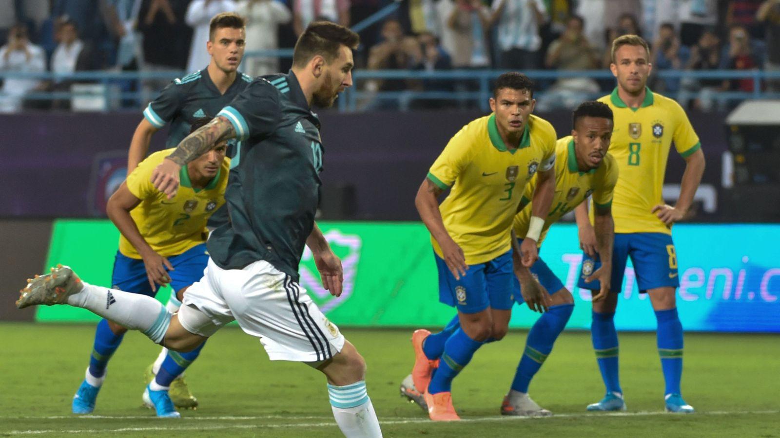 Brazil 0 1 Argentina Match Report Highlights
