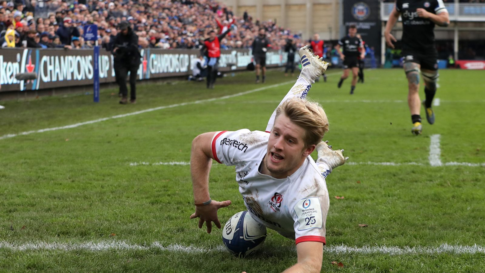 Bath 16-17 Ulster: John Cooney and Rob Lyttle tries help Ulster to Champions Cup win