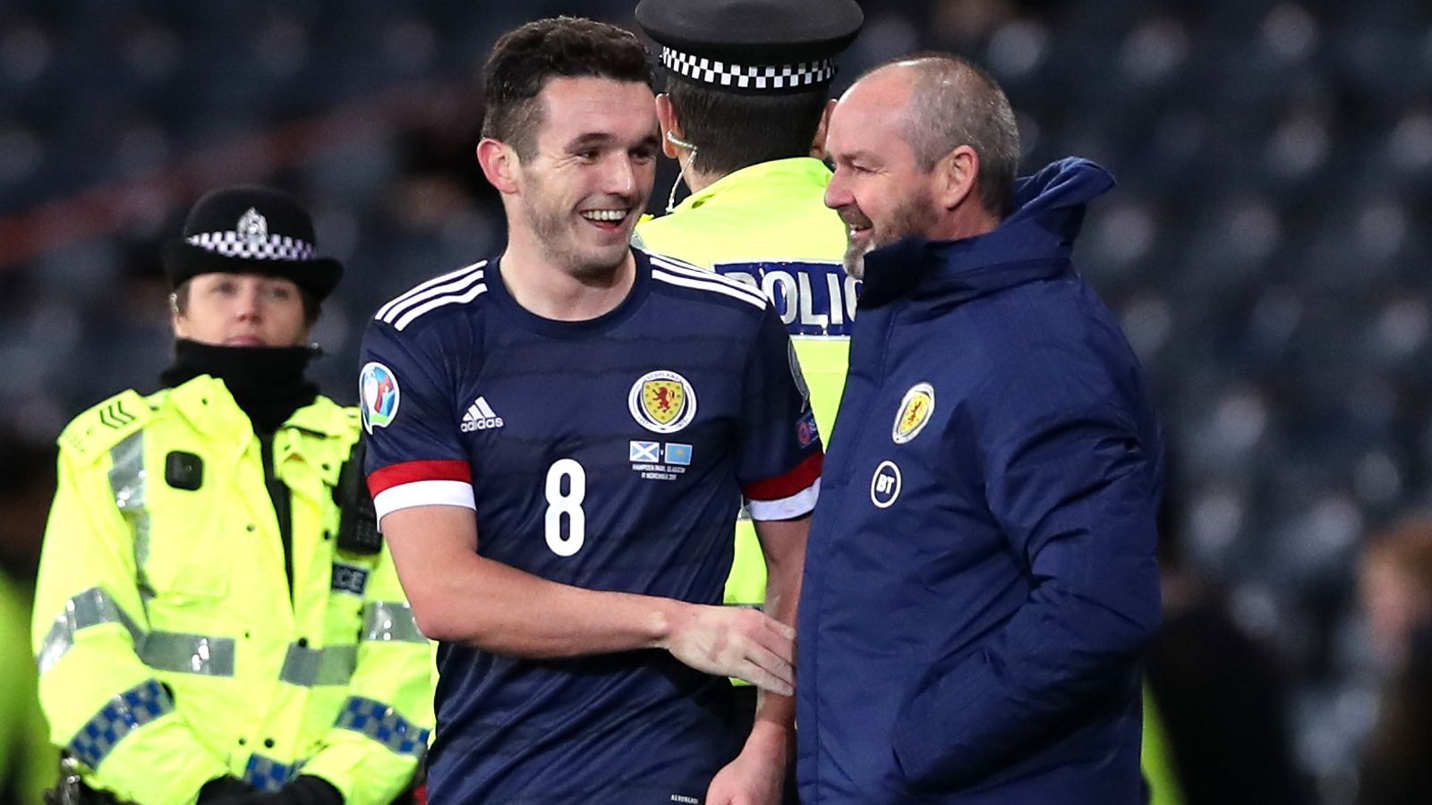 'Scotland will get more out out McGinn'