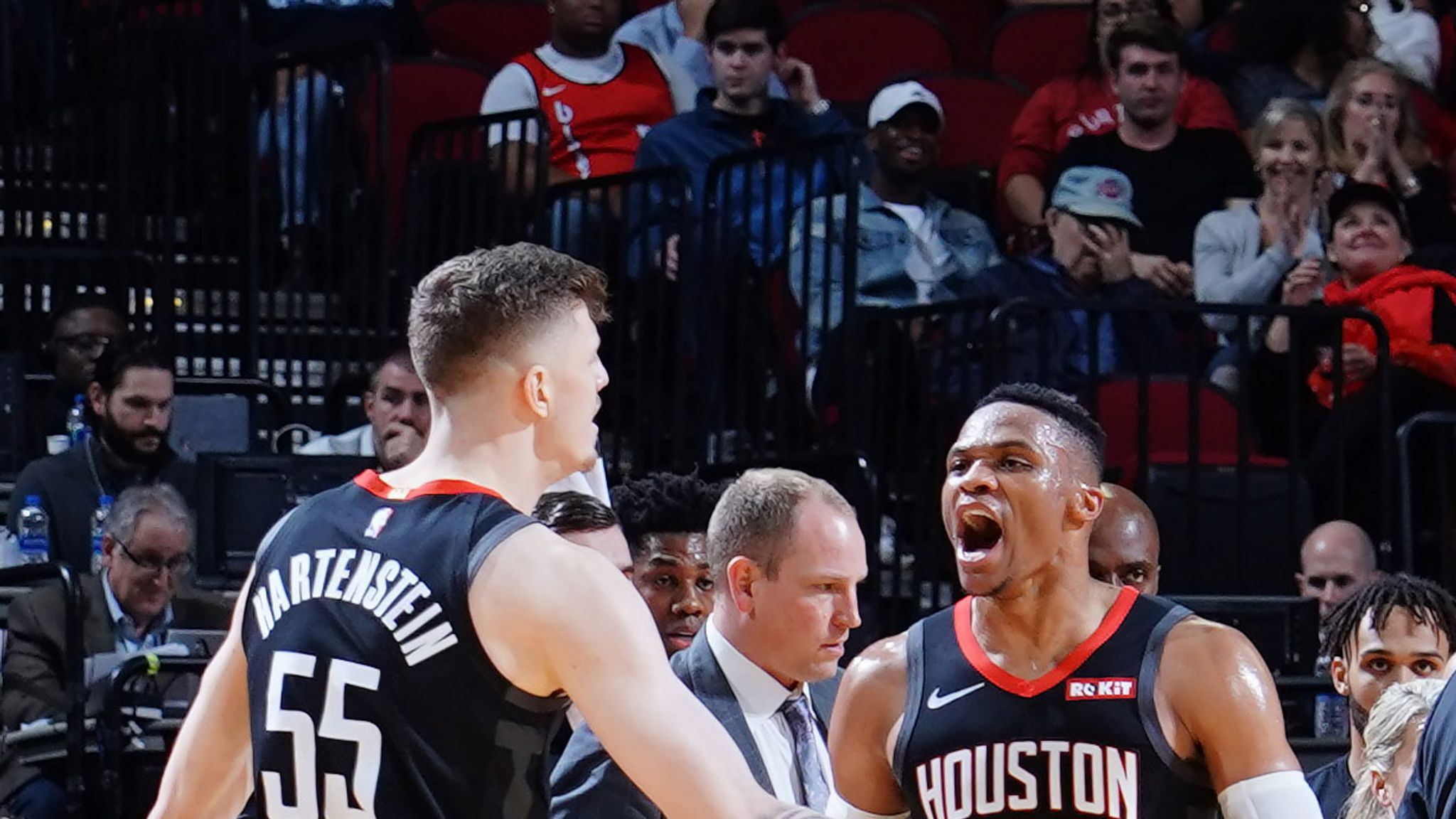 James Harden and Russell Westbrook a pretty good 1-2 punch, says Mike D'Antoni