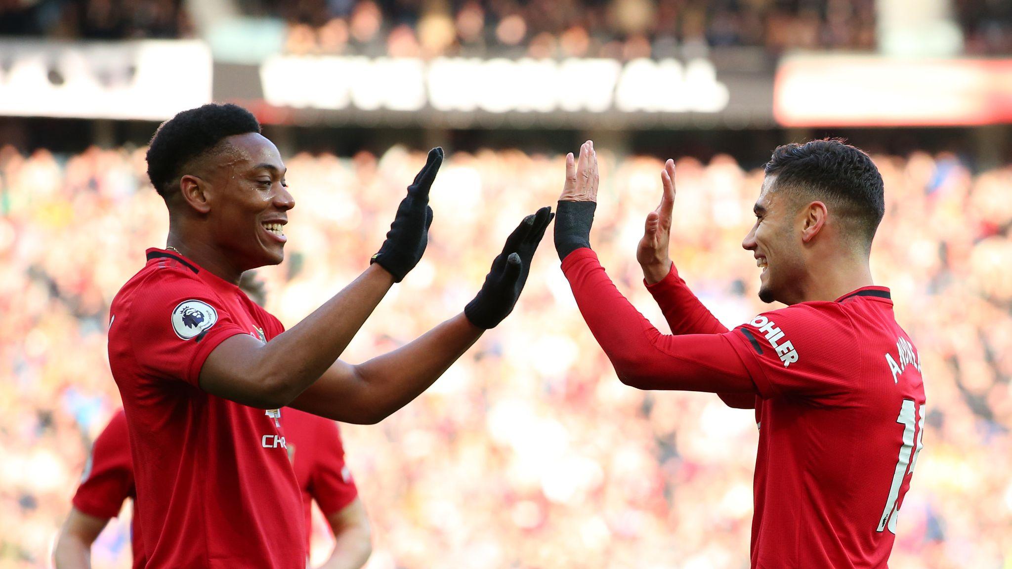 Man Utd's flying forwards bringing fun back to Old Trafford