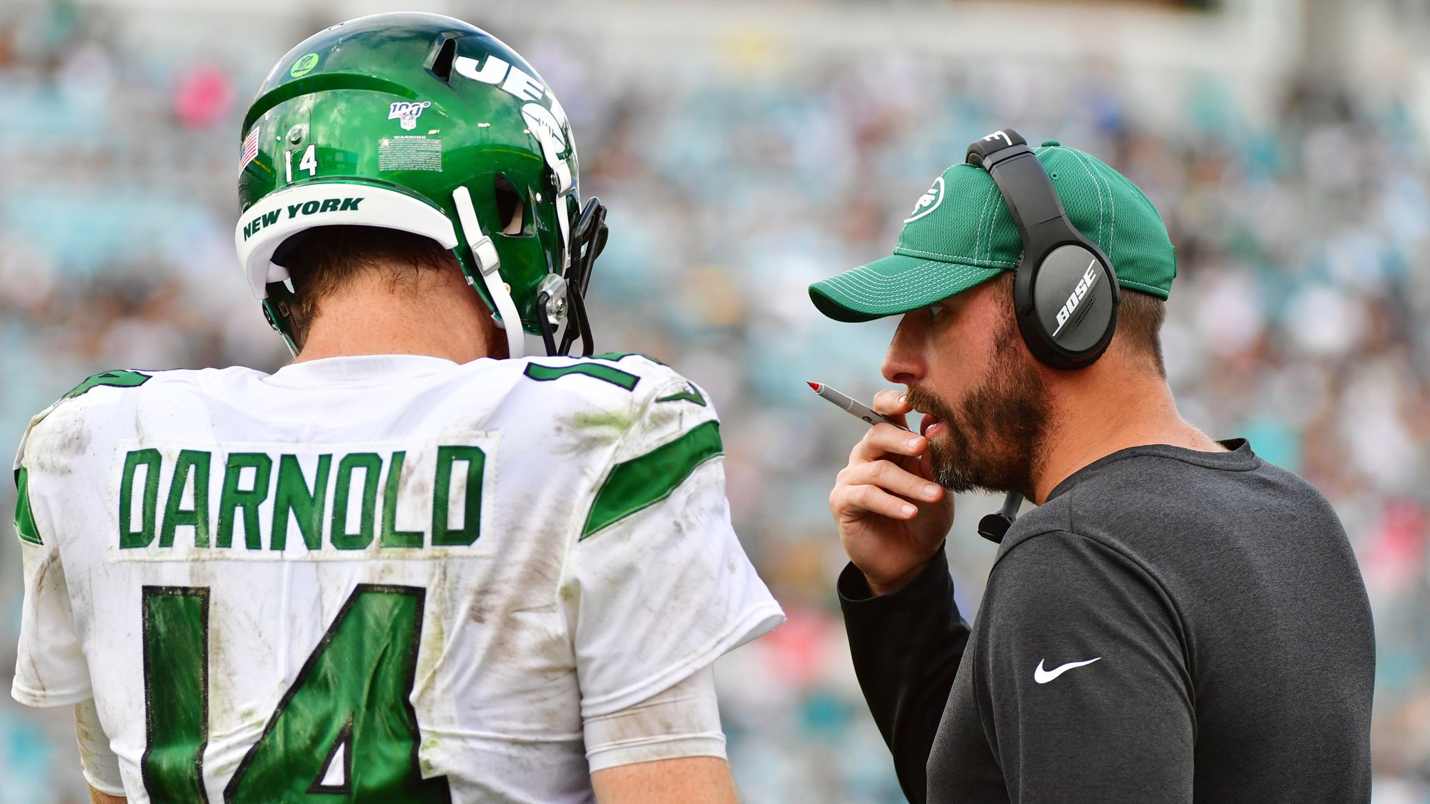 New York Jets stick with Adam Gase as head coach for 2020 season