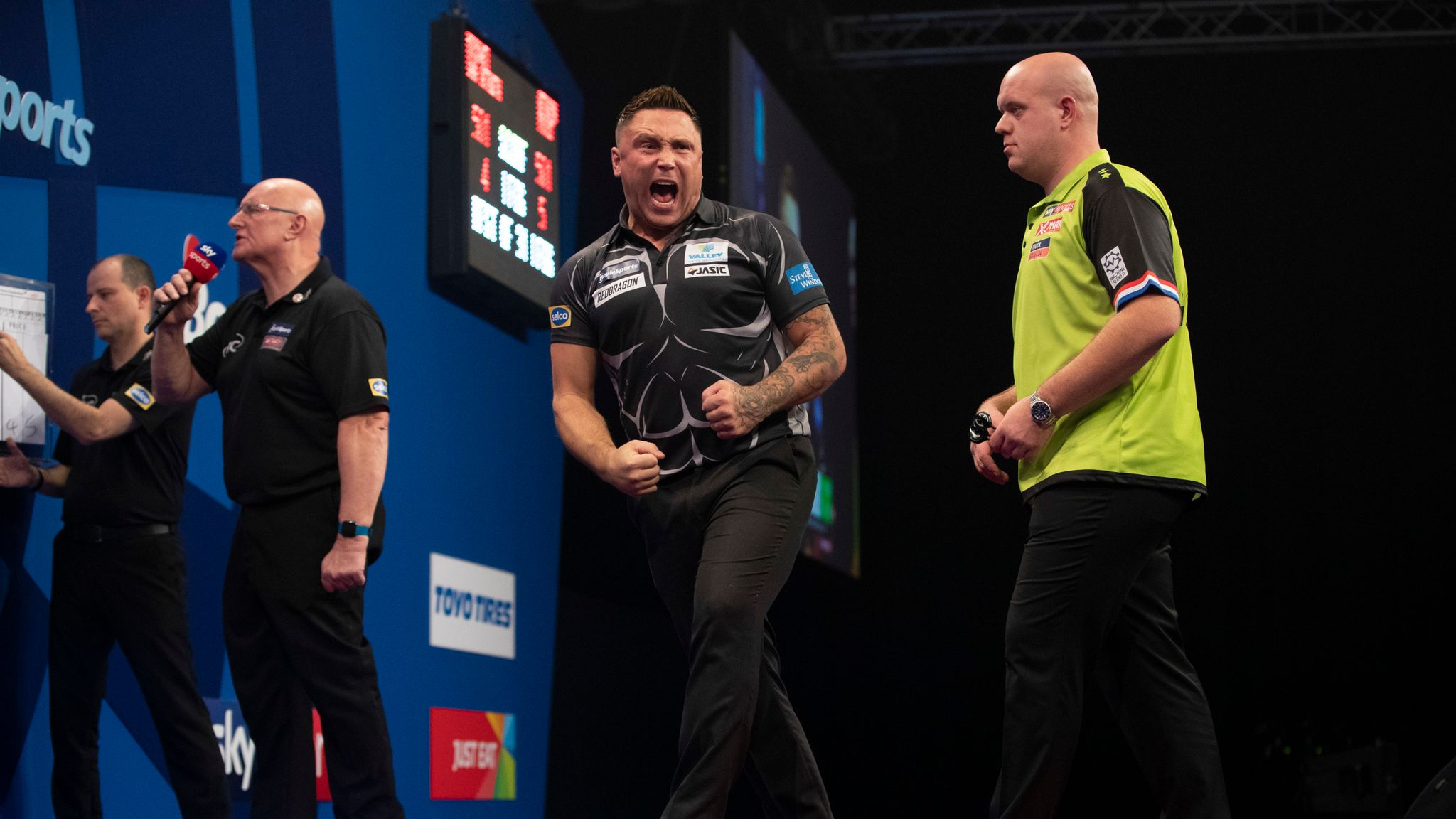 Michael van Gerwen fears nobody as he eyes fourth World Championship