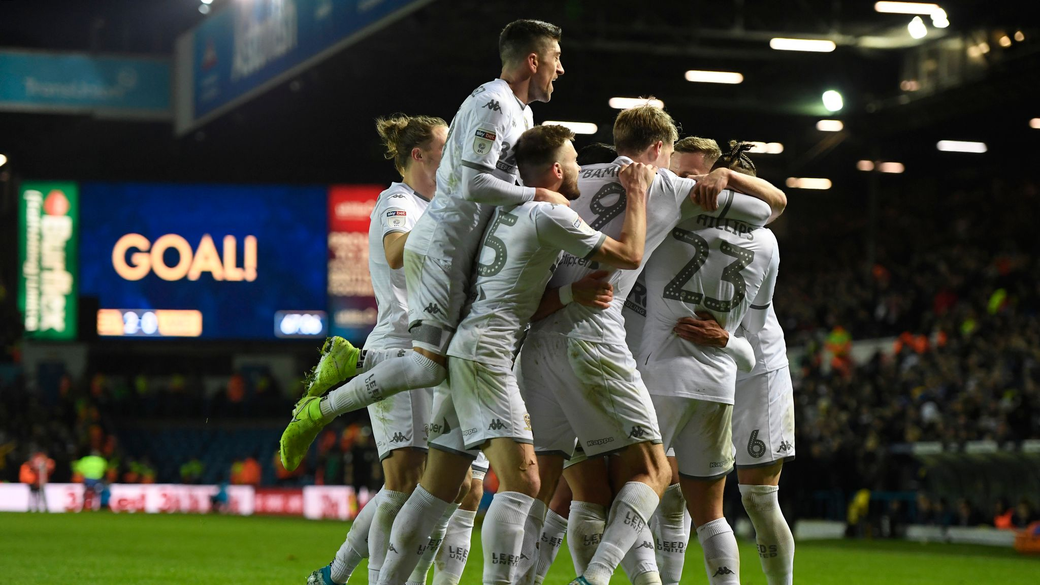 Championship highlights and round-up: Leeds move top, Fulham beaten