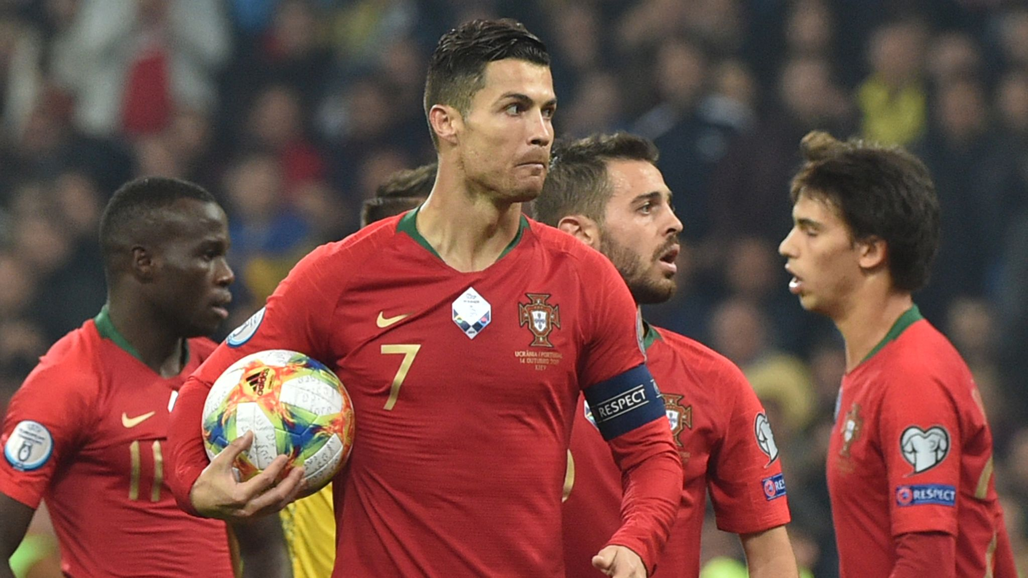 European Qualifiers on Sky: Cristiano Ronaldo in action for Portugal