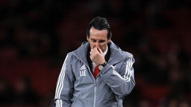 fifa live scores - Unai Emery: Arsenal sack head coach