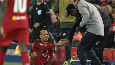 fifa live scores - Fabinho: Liverpool midfielder out until New Year with ankle ligament damage