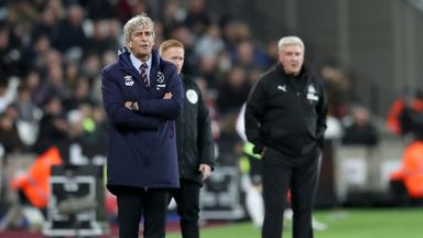 fifa live scores - West Ham boss Manuel Pellegrini not concerned for his job