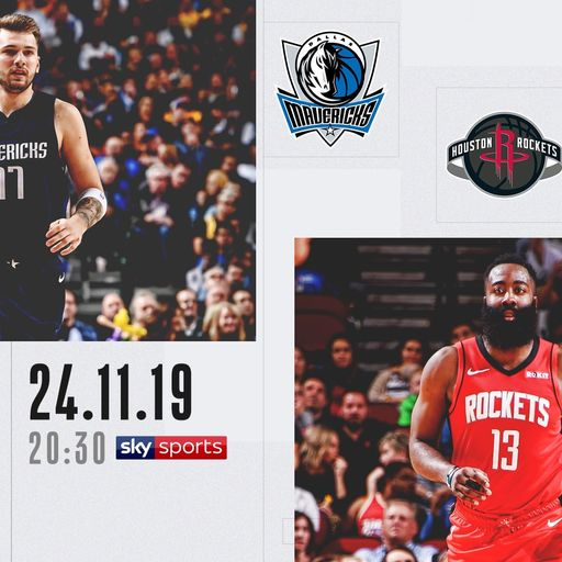 Mavericks @ Rockets free on Sky Sports