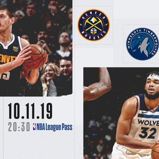 Nuggets @ T-Wolves free on Sky Sports