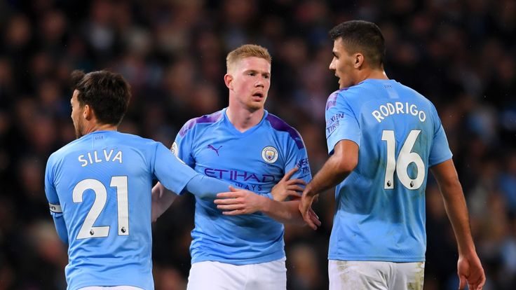 Manchester City did not dominate the ball but still won