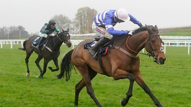 Cyrname has the measure of Altior at Ascot