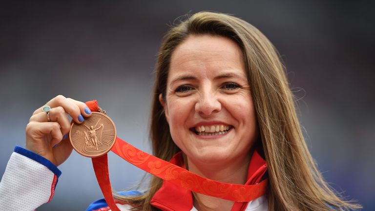Goldie Sayers won Olympic bronze after a rival was found guilty of doping