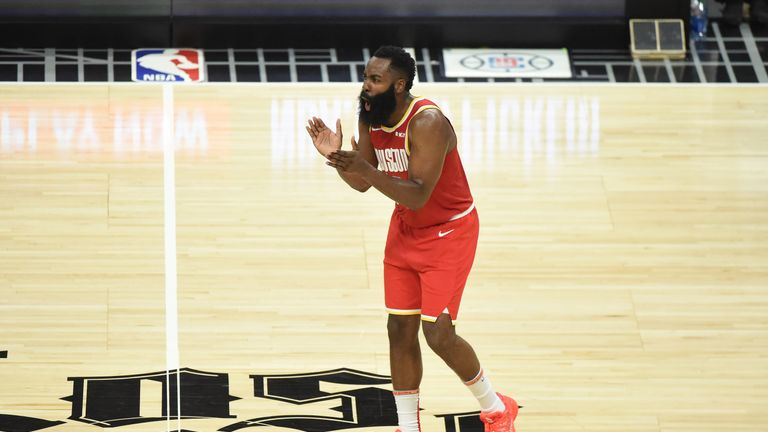 James Harden calls for more energy from his team-mates
