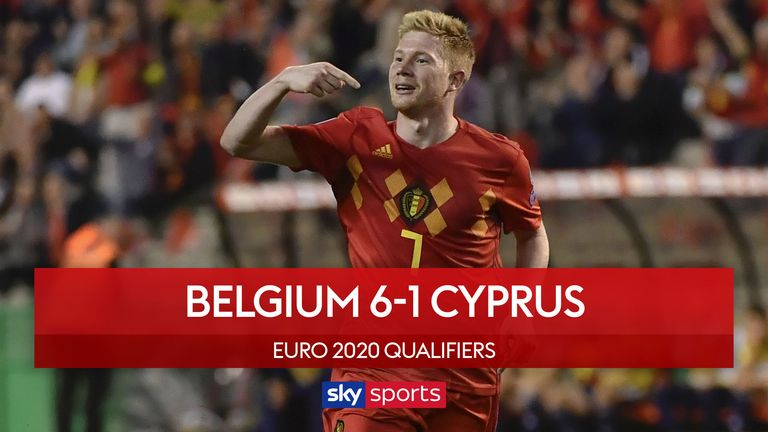 Belgium v Cyprus