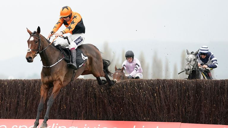 Aidan Coleman riding Put The Kettle On